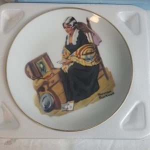 Norman Rockwell Memories Collector's Plate 1984